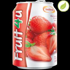 """Напиток """"Fruit4u"""" со вкусом клубники, """"Доширак"""", 238мл"""
