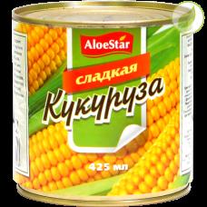 """Кукуруза """"Aloestar"""" 425 мл"""