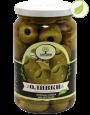"""Зеленые оливки без косточки, крупные, """"Amado"""", 350 г"""