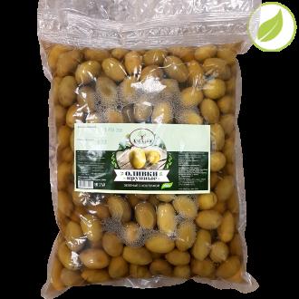 """Зеленые оливки с косточкой, крупные, м.у. """"Amado"""" 3500 г"""