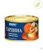 """Сардина атлантическая в томатном соусе, """"Барс"""",  250г"""