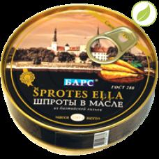 """Шпроты в масле из балтийской кильки, """"Барс"""","""