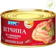 """Ветчина европейская из свинины, """"Барс"""", 325г"""