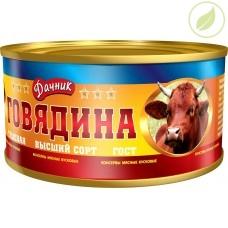 "Говядина тушёная ГОСТ, ""Дачник"", 325г"