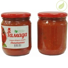 "Аппетитка острая овощная закуска, ""Тамада"",  0.5 л"