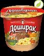 """Картофельное пюре со вкусом говядины, """"Доширак"""", 40г"""