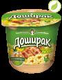 """Картофельное пюре со вкусом курицы, """"Доширак"""" , 40г"""