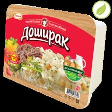 """Картофельное пюре со вкусом говядины, """"Доширак"""" лоток, 40г"""