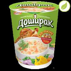 """Суп пюре со вкусом курицы, """"Доширак"""", 30г"""
