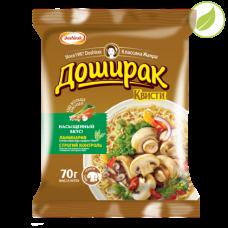 """Лапша быстрого приготовления """"Квисти"""" со вкусом грибов, """"Доширак"""", 70г"""