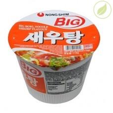 """Лапша быстрого приготовления сеутанг, """"Nongshim"""" (big bowl), 115г"""