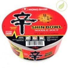 """Лапша быстрого приготовления шин рамён, """"Nongshim"""" (shin bowl), 86г"""