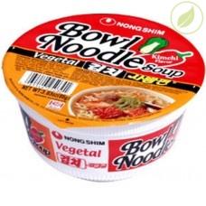 """Лапша быстрого приготовления со вкусом кимчи """"Kimchi flavor"""", """"Nongshim"""", 86г"""