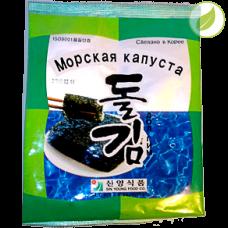 """Морская капуста обжаренная с маслом кунжута, """"ДолГим """", 16г"""