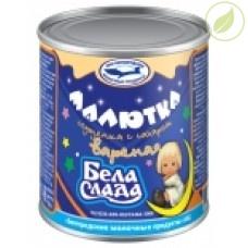 """Сгущенка вареная с сахаром малютка, """"Бела-слада"""", 360 г"""