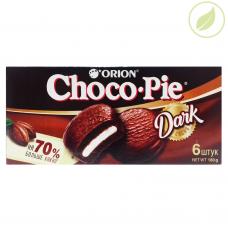Кондитерское изделие ,Choco pie dark, 6 шт