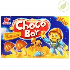Печенье Orion Choco Boy карамель  45г