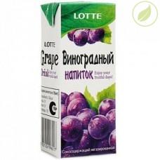 "Напиток со вкусом винограда, ""Лотте"", 190 мл"